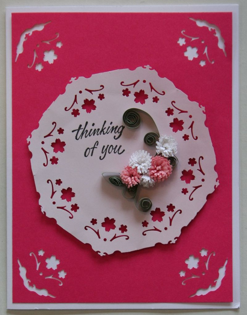 Thinking of you card 2