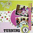 Turning 5 by Deb Long