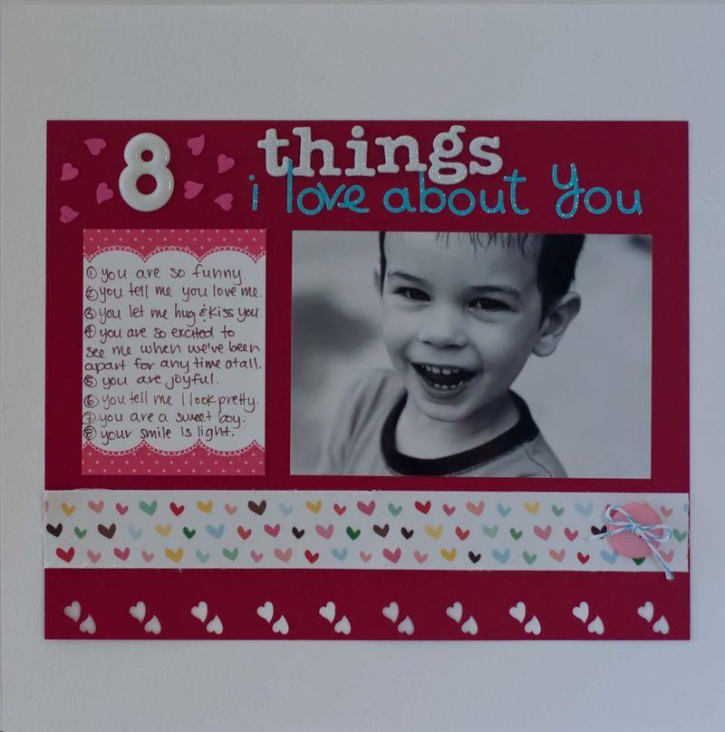 Rk 8 things