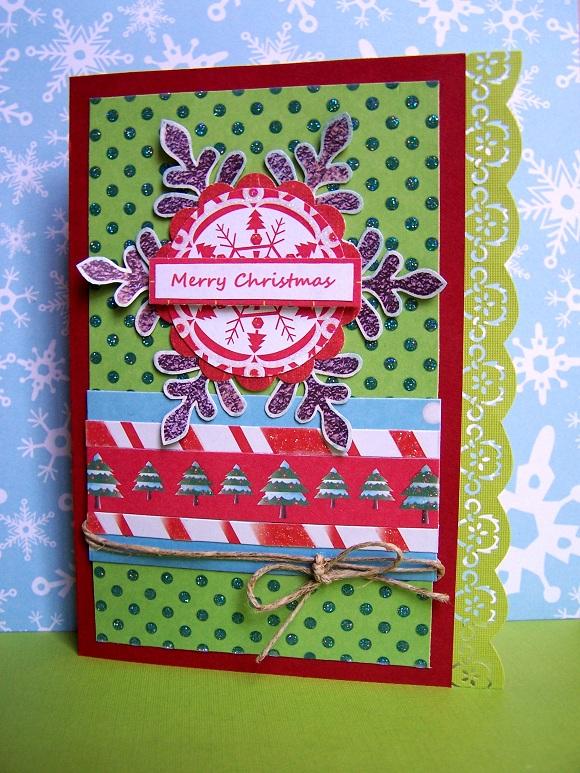 Merry Christmas border card