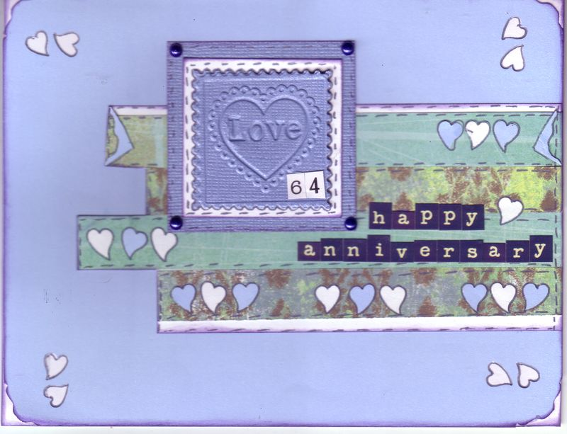 64th Anniversary Card