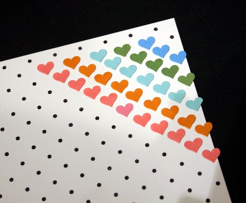 Hearts dots