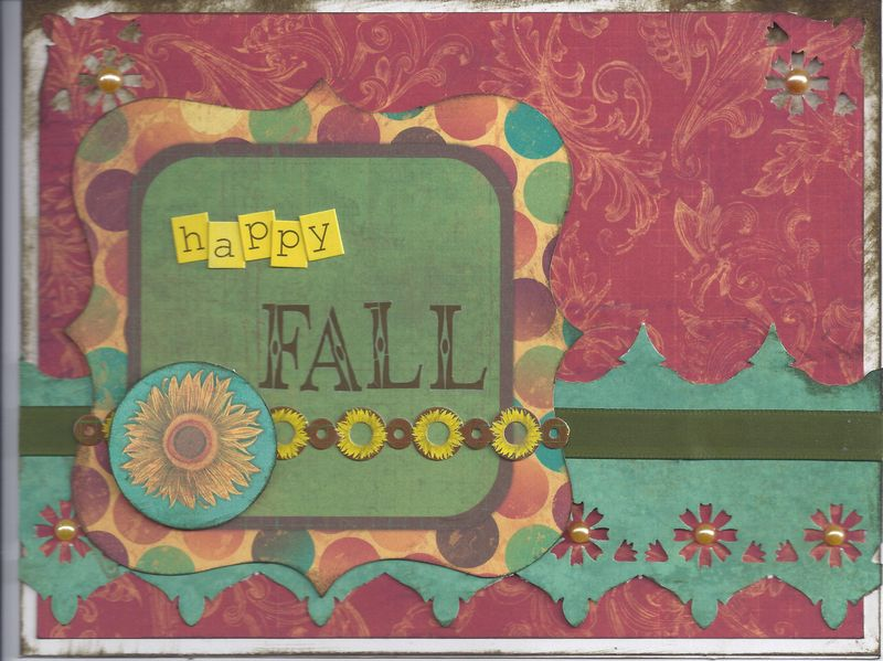 Happy Fall Card LISA M