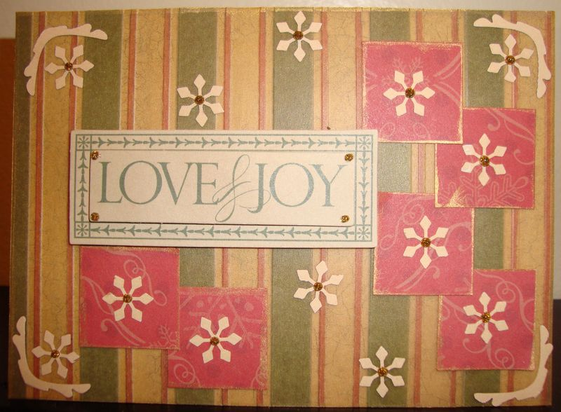 November MSW Sketch - Love & Joy Card