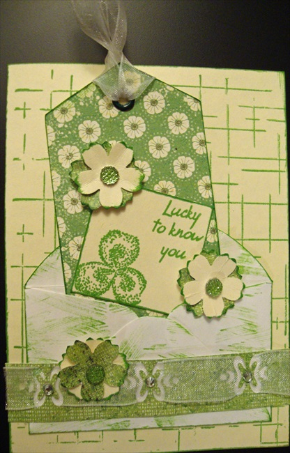 Lucky to Know You Card  by Ginni