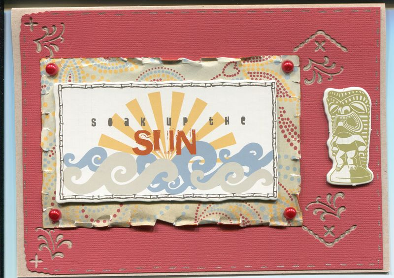 Soak Up the Sun Card