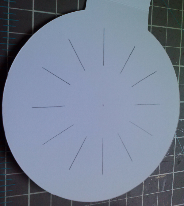 Circle Card Lines R