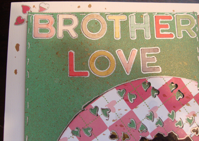 Brotherly Love Close Up 1