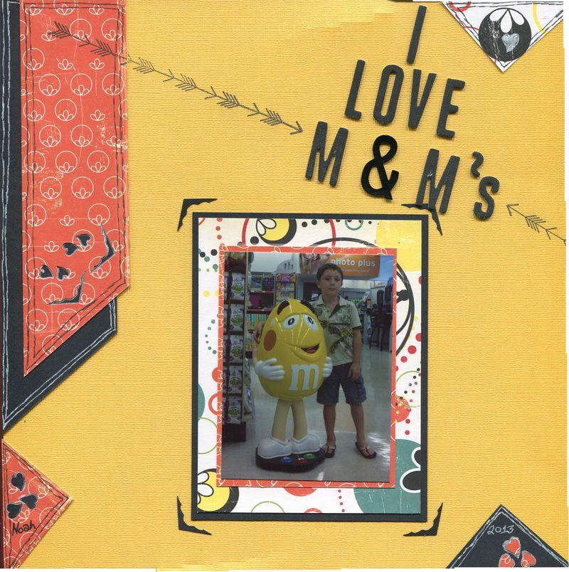 I Love M&Ms R1