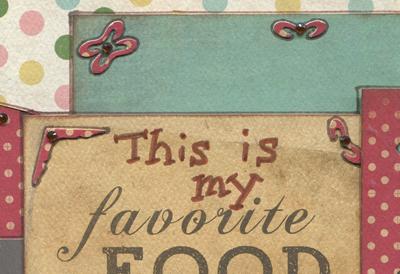 My Favorite FoodTutorial 6