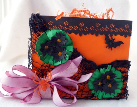 October Halloween bag