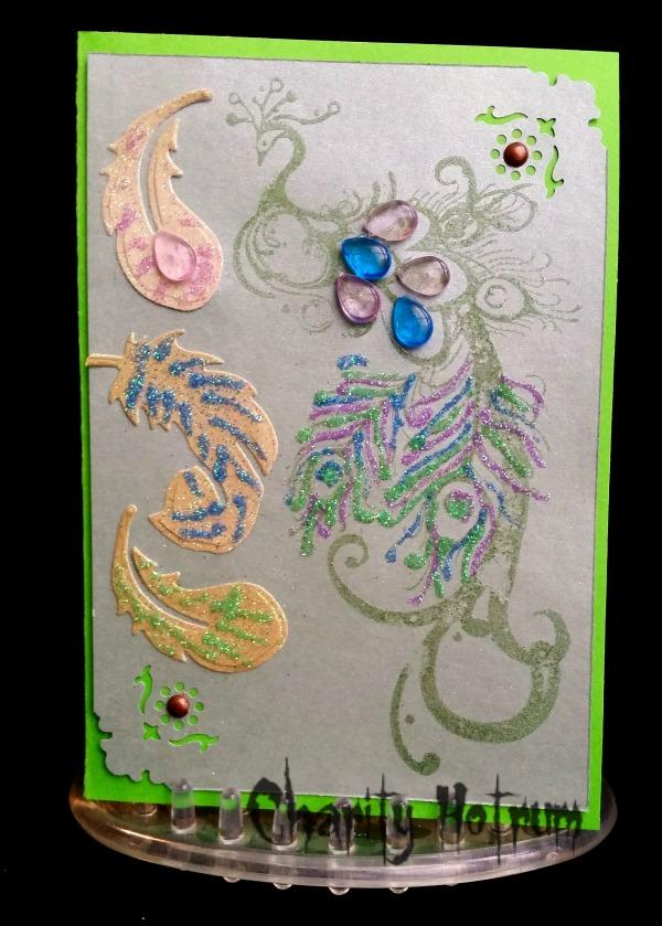 Peacock Card (8)