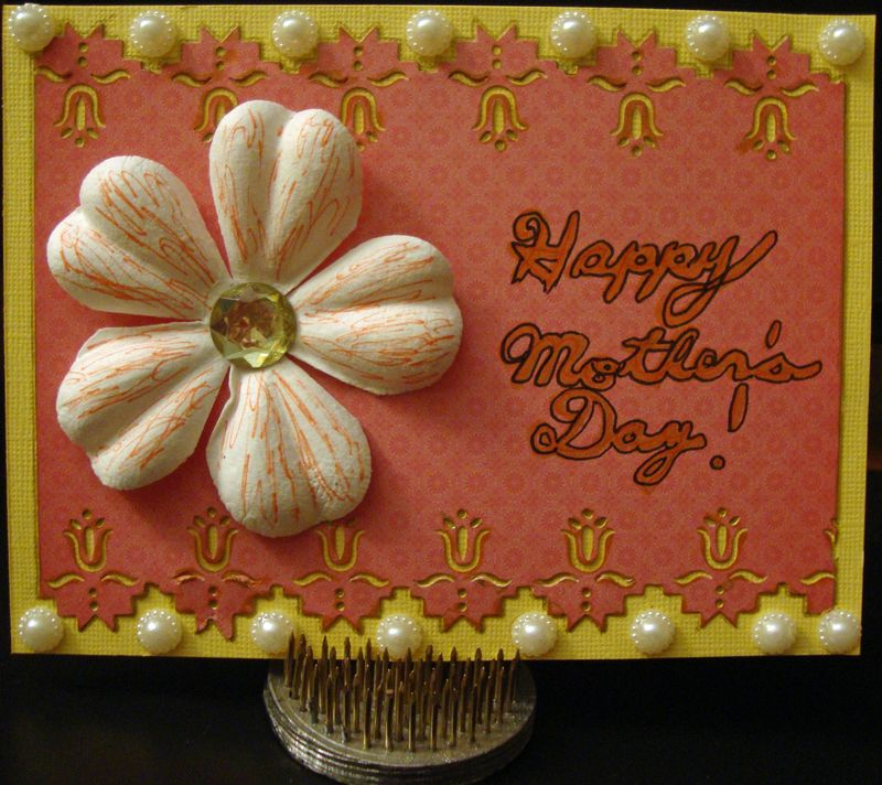 Mothers Day Card JI-K DT 5-4