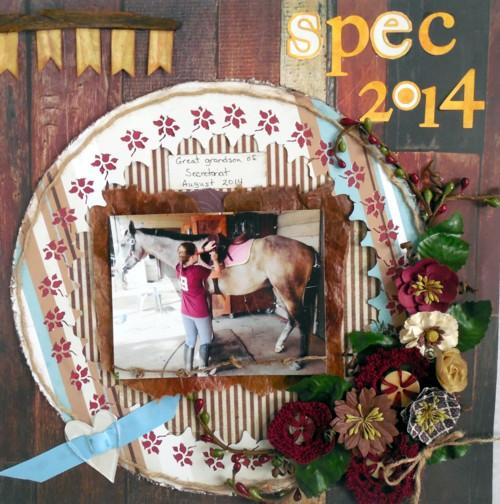 Spec the horse-Oct