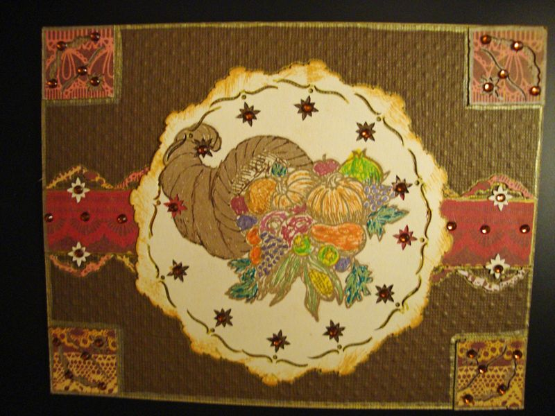 Thanksgiving Card Outside