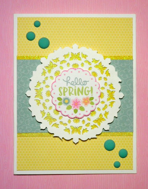 Hello Spring by Laura C 2017