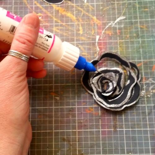 Spiral Rose Card (3)
