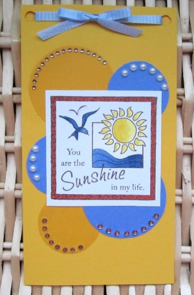 You are the Sunshine by Bev Code