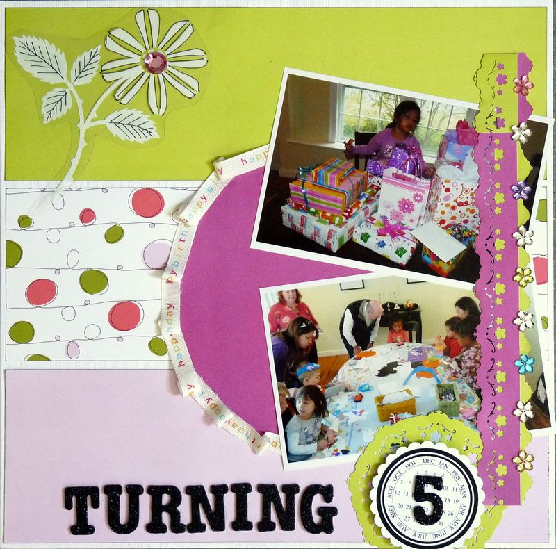 Turning 5 by Deb Long