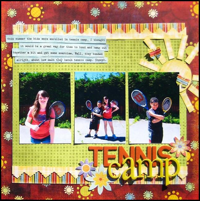 Tennis Camp by Melissa Ferguson