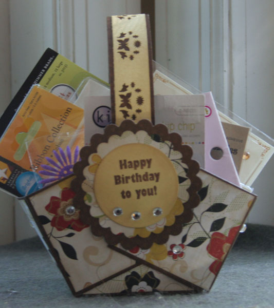 Birthday Basket by Stephanie Ackerman