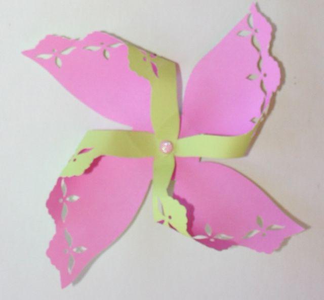 915 - Pink Pinwheel