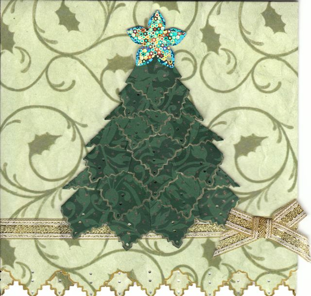 907 - Christmas Tree Card